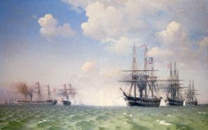 A 1264, dias 378 Slaget ved Helgoland 1864